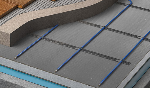 underfloor heating inscreed cable