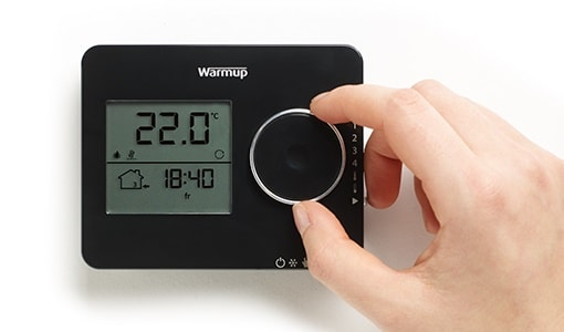 tempo programmable thermostat controls