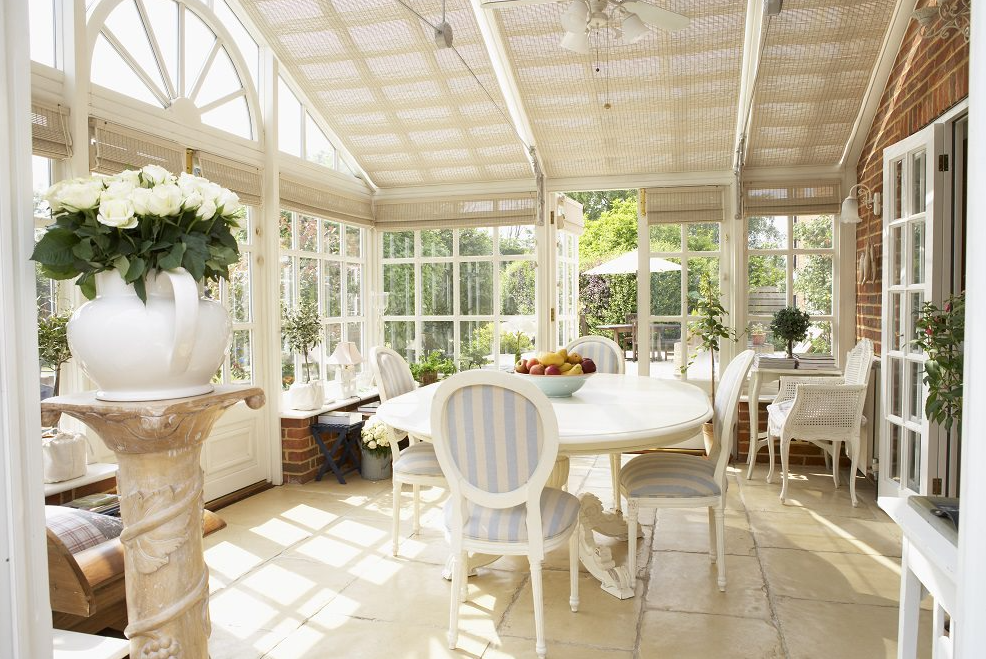 UFH in a conservatory