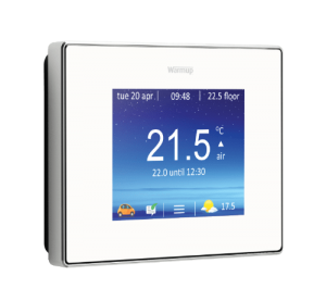 4iE smart thermostat in white